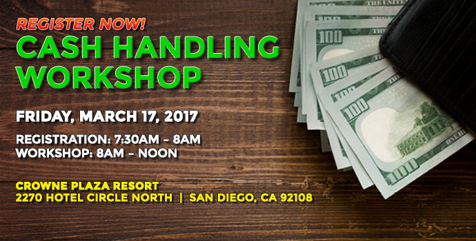 Cash Handling Workshop