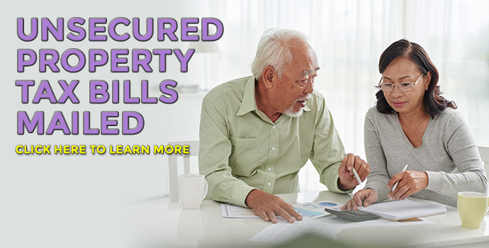 Unsecured property taxes