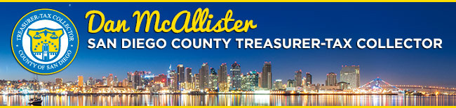 San Diego County Property Tax Pay Online